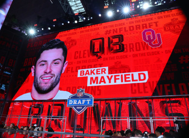 Mayfield: the Browns got their man.