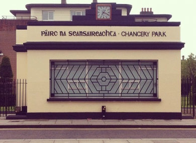 Chancery Park is one of many protected structures designed by Herbert Simms.