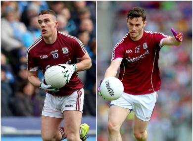 Eamonn Brannigan and Ian Burke are both brought in to start for Galway.