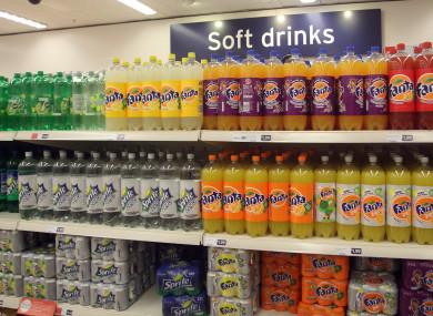 Soft drinks that keep their recipe could become relatively more expensive.