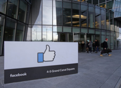 Facebook HQ in Dublin.