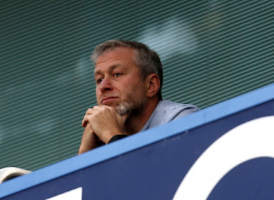 The Chelsea owner hasn't been to see a game in quite a while.