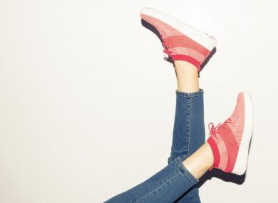 Walk, run, dance, kick, whatever you like.