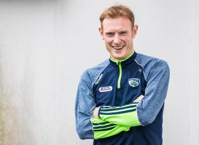 Laois footballer Brian Glynn.