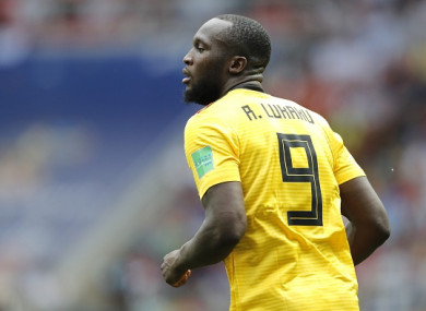 Lukaku has started this summer's World Cup brightly but will miss tomorrow's game in Kaliningrad.