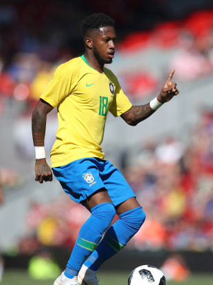 Fred has won eight caps for Brazil.