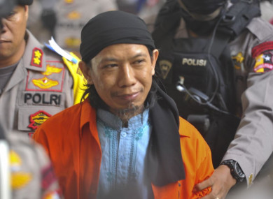 Aman Abdurrahman in court today.