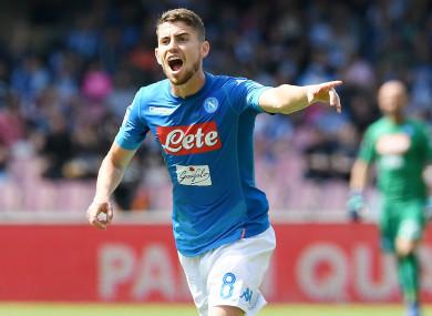 Napoli midfielder Jorginho.