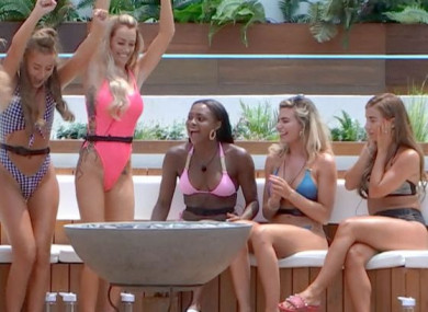 An estimated 35,000 viewers watched the premiere of Love Island.
