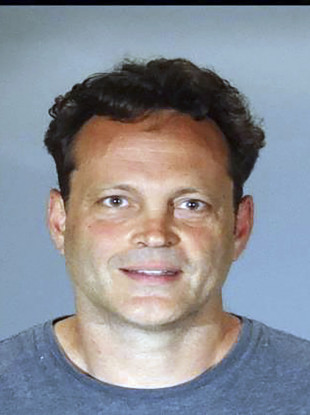 Booking photo released by the Manhattan Beach Police Department shows actor Vince Vaughn.
