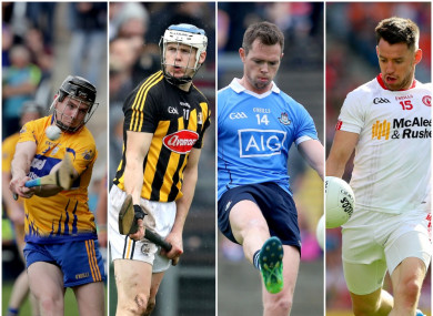 Kelly, Reid, Rock and Donnelly will all be in action in front of the TV cameras this weekend.
