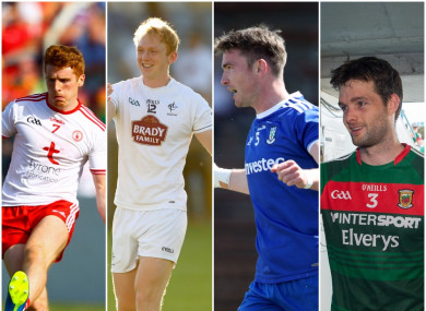 Tyrone, Kildare, Monaghan and Mayo will discover their next opponents tomorrow.