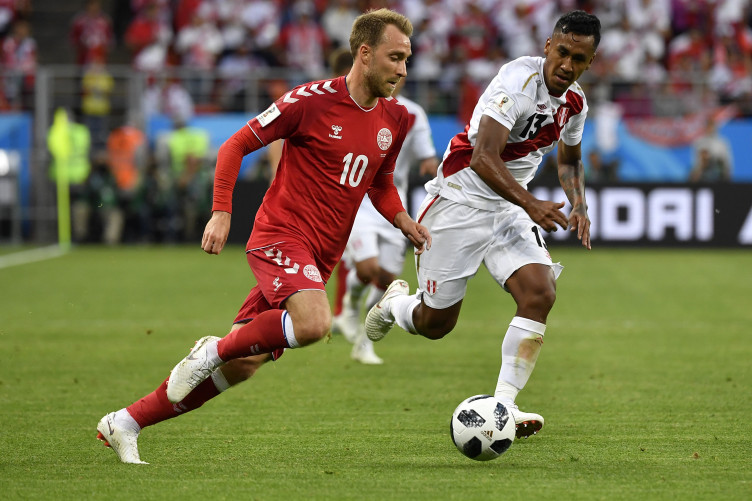 This one moment of class from christian eriksen highlights the this one moment of class from christian eriksen highlights the difference between peru and denmark thecheapjerseys Images