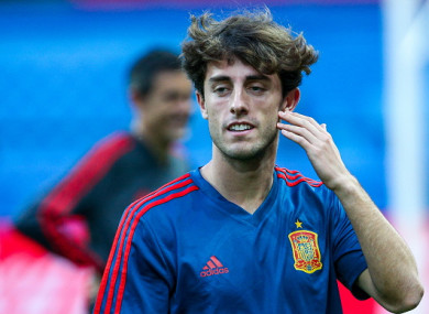 Odriozola didn't make an appearance at the World Cup.