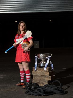 Coork camogie captain Aoife Murray.