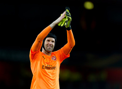 Cech has one year remaining on his Arsenal contract.