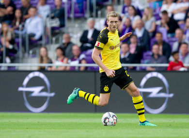 The 27-year-old has been with Dortmund since 2016.