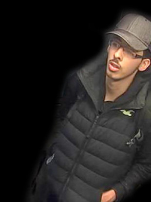 Salman Abedi caught on CCTV travelling to the Manchester Arena.