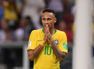 Brazil and Neymar suffered a quarter-final exit from the World Cup.