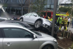 Woman injured after several cars invovled in crash in Dublin shopping centre car park