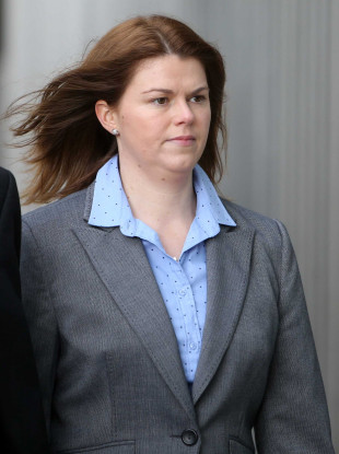 Sandra Higgins during a previous trial