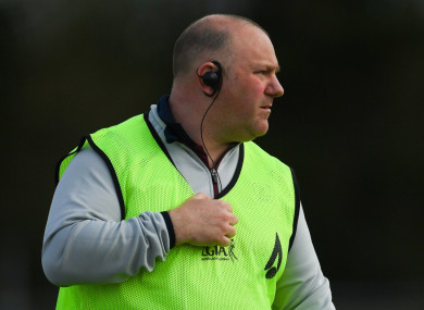 Galway manager Stephen Glennon.