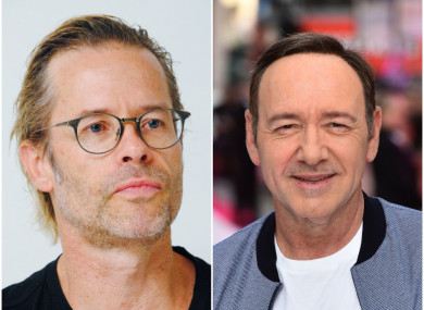 Guy Pearce (left) and Kevin Spacey (right)
