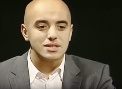 A still from a video featuring Redoine Faid.