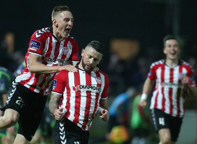 Rory Patterson bagged a late winner for Derry (file pic).