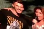 Shania Twain was extremely charmed by an Irish lad who joined her on stage in Philadelphia