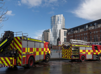 File photo. Units of the Limerick Fire Service attended the scene.