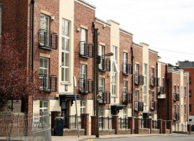 File photo. Residential blocks in Dublin