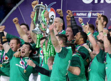 Ireland completed a glorious Grand Slam win at Twickenham.