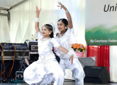 Last year's India Day at Farmleigh House.