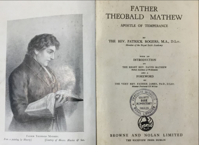 The inside of 'Father Theobald Matthew'