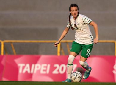 Claire O'Riordan recently made the move to Bundesliga side Duisburg.