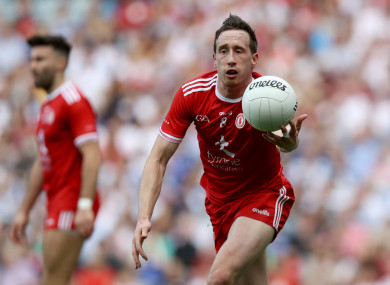 Colm Cavanagh in action for Tyrone.