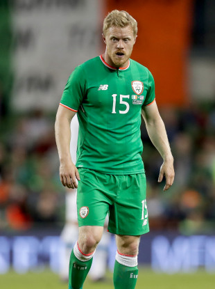 Daryl Horgan won his fourth Ireland cap in the 2-1 win over USA in June.