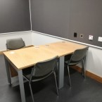 One of the interview rooms.