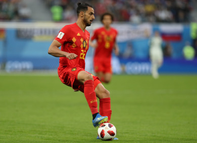 The 29-year-old starred for Belgium in the World Cup as they secured third place.