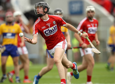Millerick in action for Cork's minors in 2017.