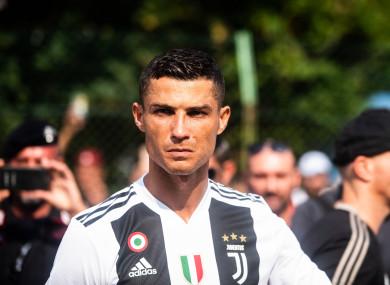Cristiano Ronaldo (Juventus).