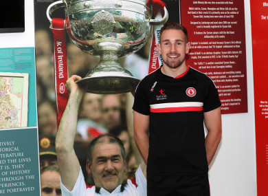 2010 All-Ireland minor winner Niall Sludden will be key for Tyrone on Sunday.