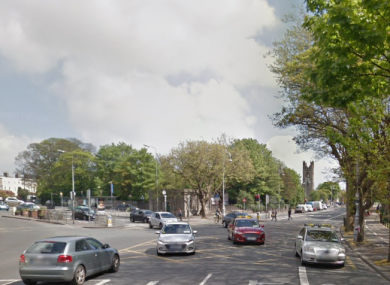 Malahide Road junction at Fairview, Dublin