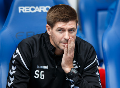 Gerrard's side have conceded late equalisers twice in their opening three league games.