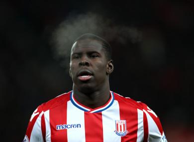Zouma was on loan at Stoke last season.