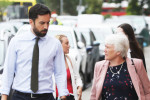 Minister Eoghan Murphy and Junior Minister Catherine Byrne