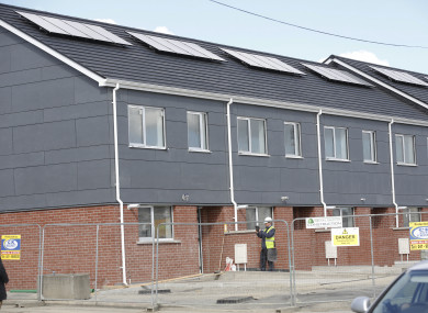 Modular homes in Poppintree, Ballymun.