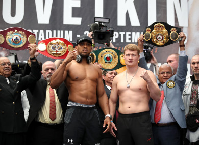 The fighters in London today.