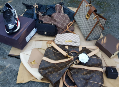 Some of the items seized by CAB as part of their search this morning